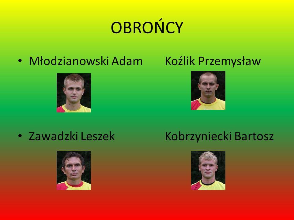 OBROŃCY Młodzianowski Adam Koźlik Przemysław