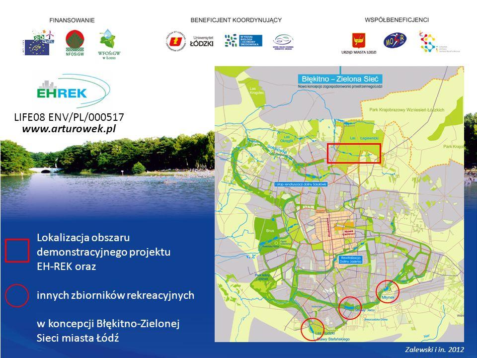 Lokalizacja obszaru demonstracyjnego projektu EH-REK oraz