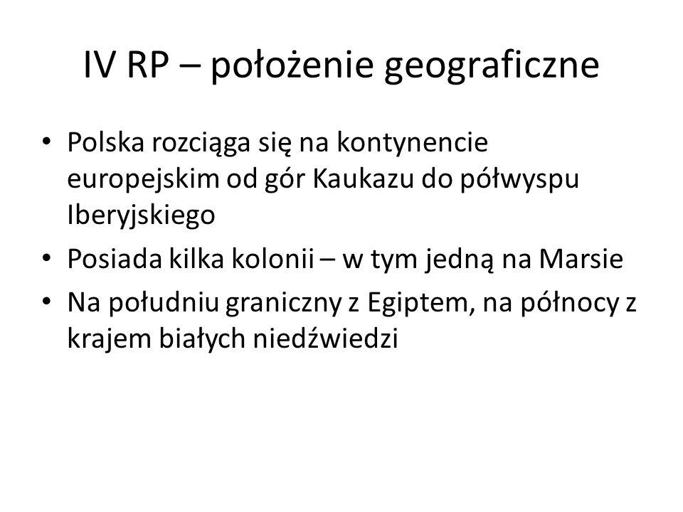IV RP – położenie geograficzne