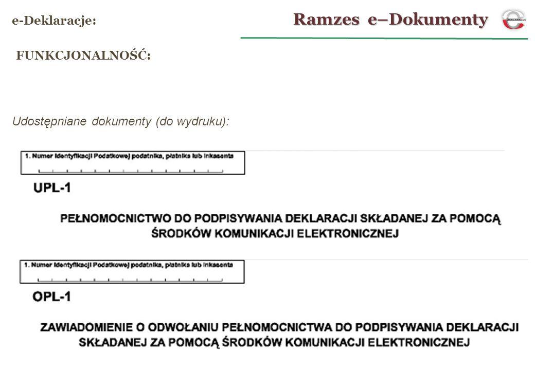 Udostępniane dokumenty (do wydruku):