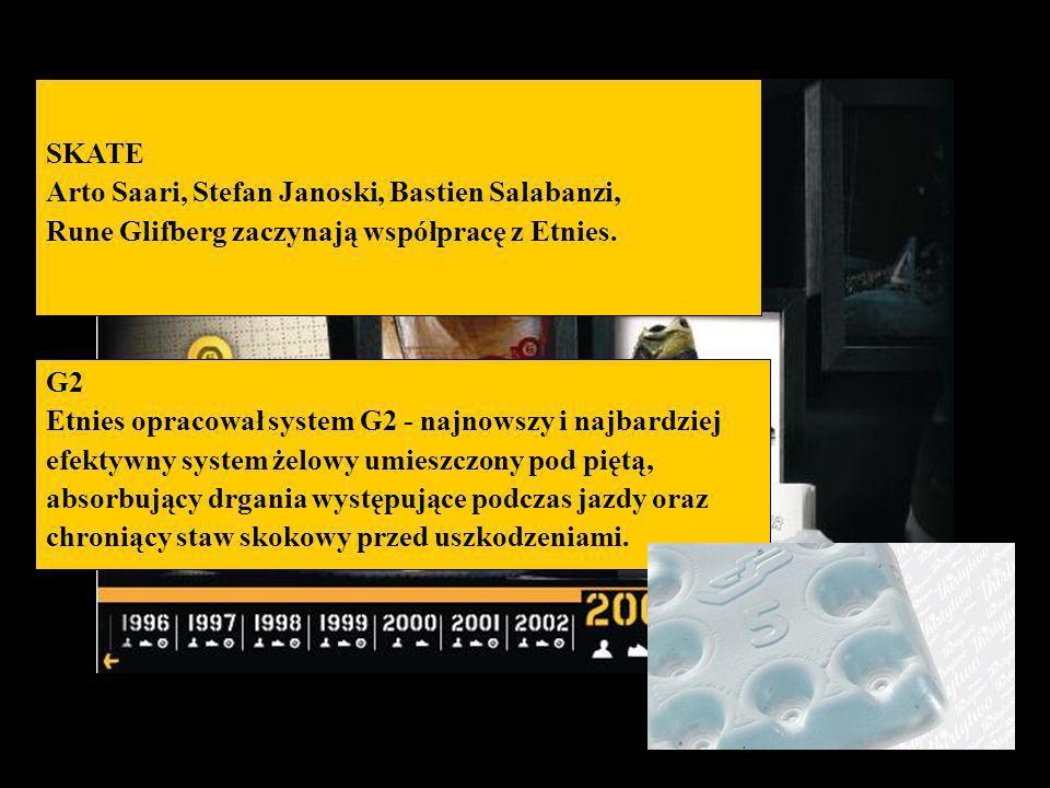 SKATE Arto Saari, Stefan Janoski, Bastien Salabanzi, Rune Glifberg zaczynają współpracę z Etnies. G2.