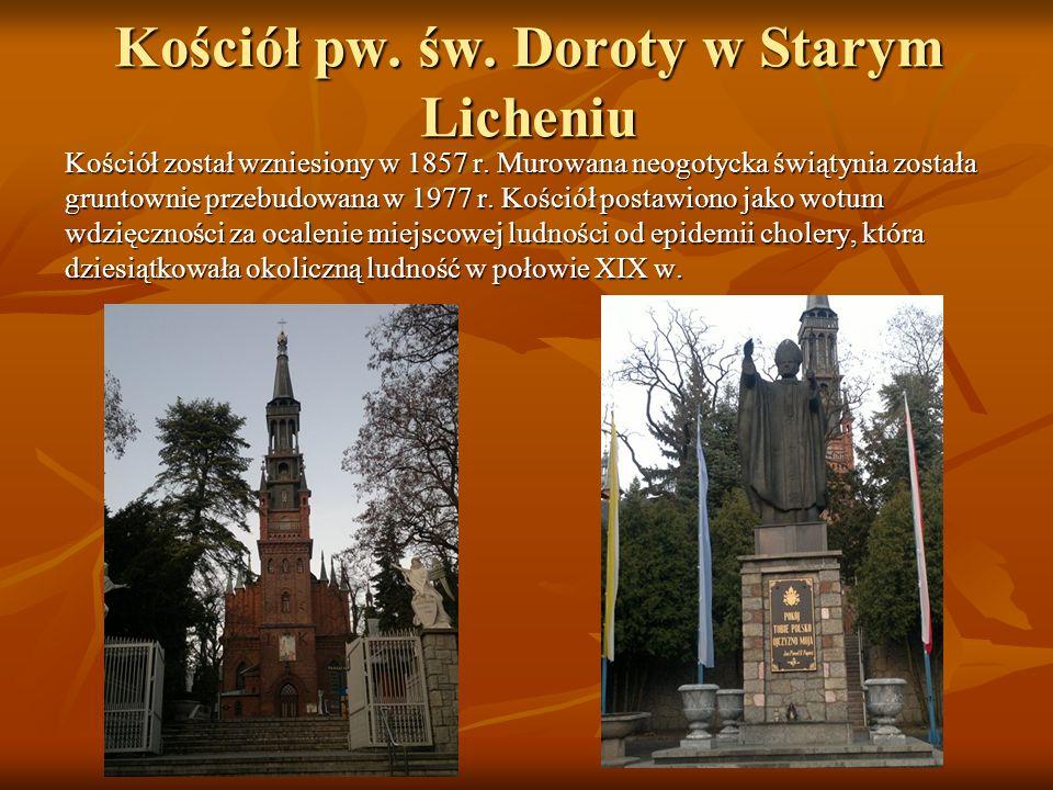 Kościół pw. św. Doroty w Starym Licheniu