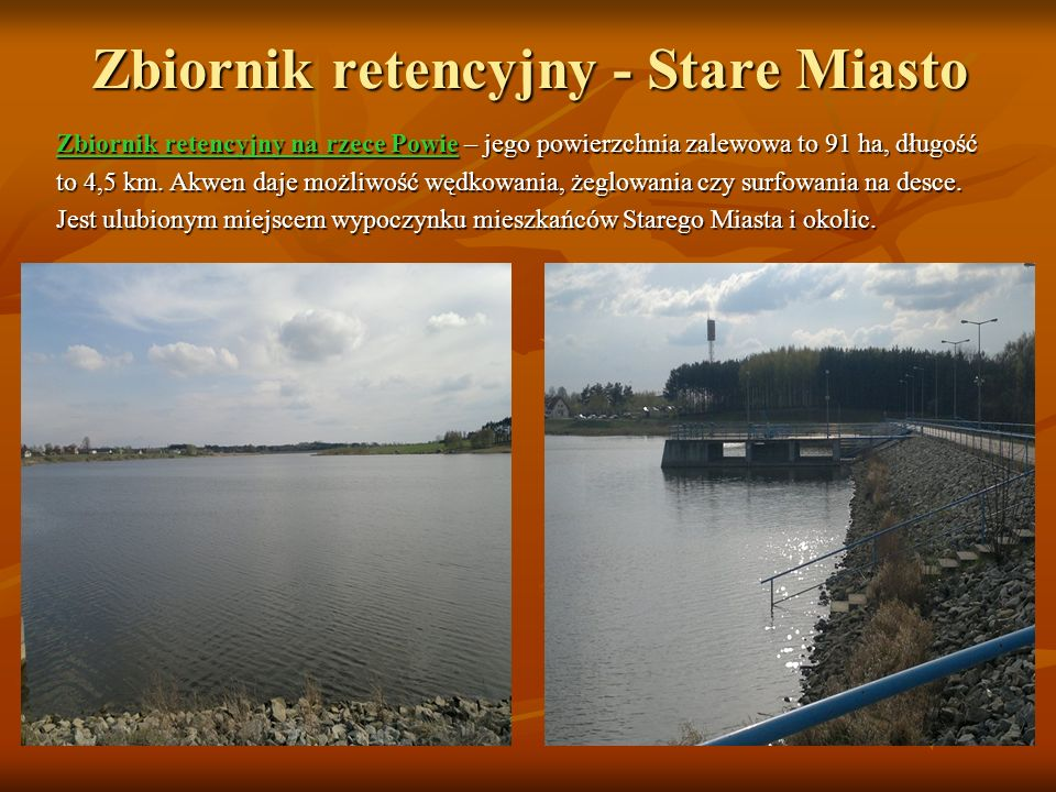 Zbiornik retencyjny - Stare Miasto
