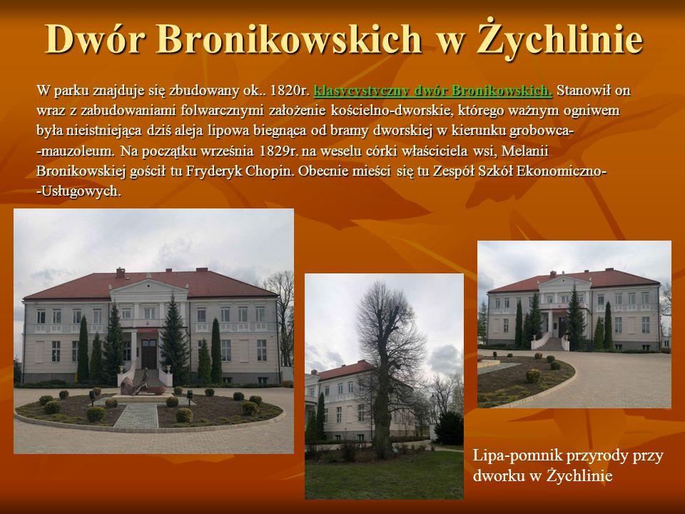 Dwór Bronikowskich w Żychlinie