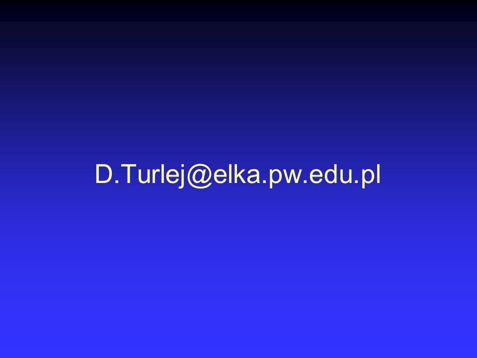 D.Turlej@elka.pw.edu.pl