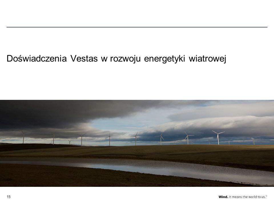Doświadczenia Vestas w rozwoju energetyki wiatrowej