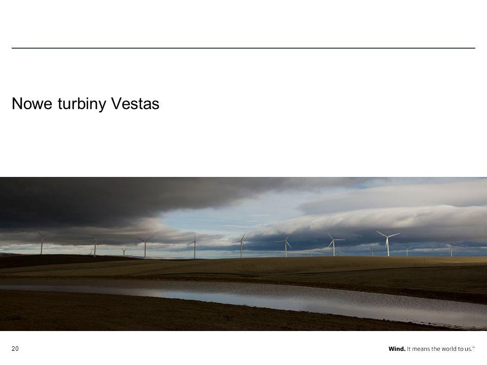 Nowe turbiny Vestas
