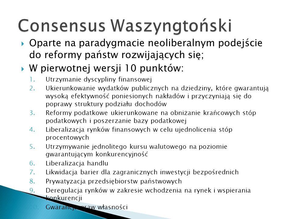 Consensus Waszyngtoński