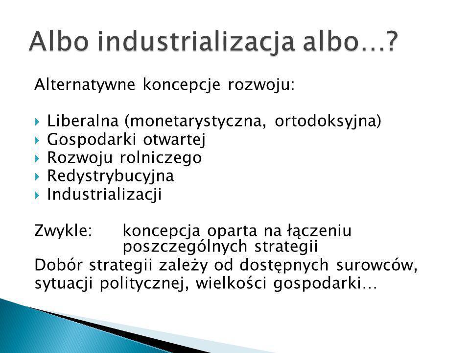 Albo industrializacja albo…