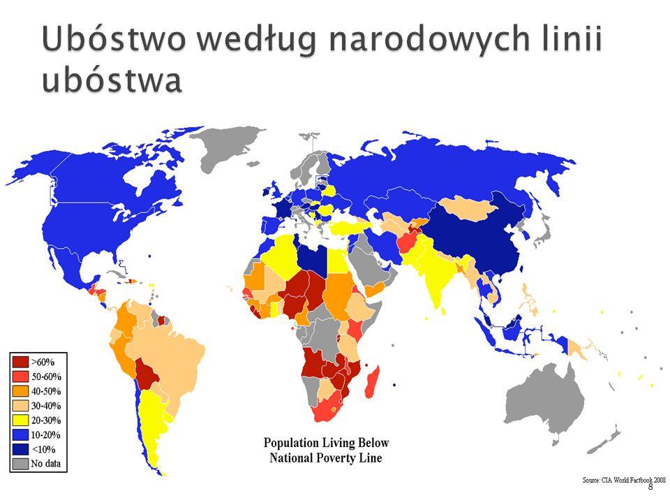 Ubóstwo według narodowych linii ubóstwa
