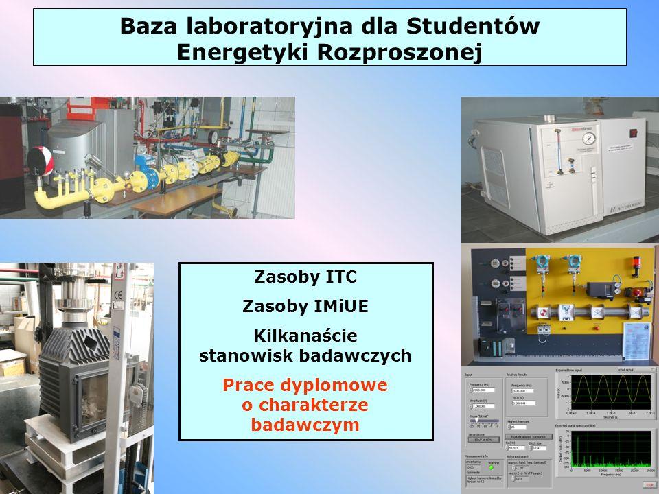 Baza laboratoryjna dla Studentów Energetyki Rozproszonej