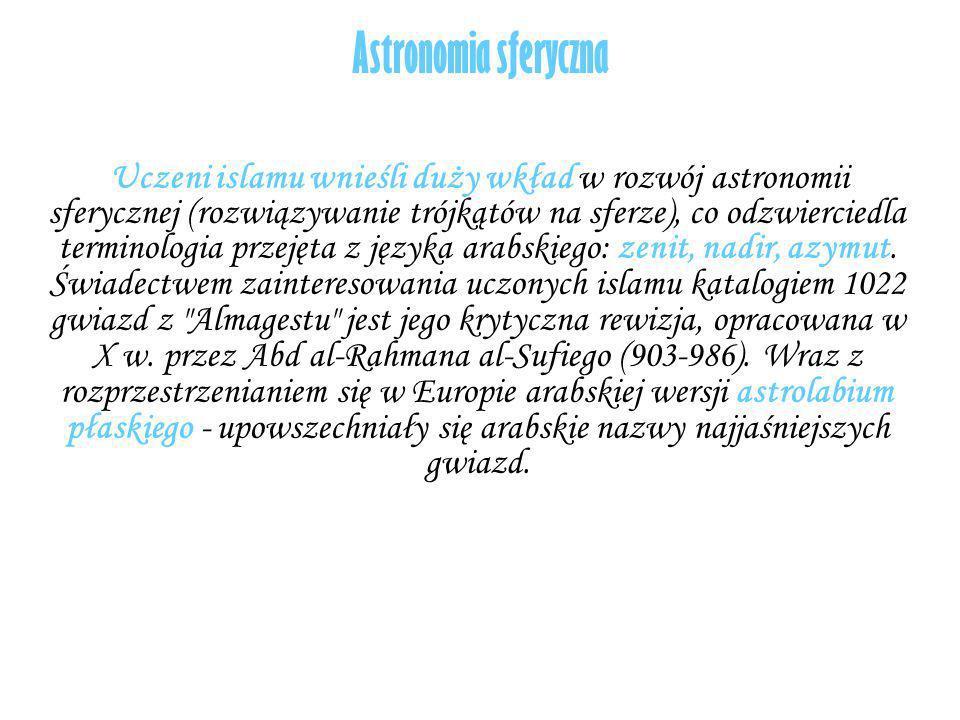 Astronomia sferyczna
