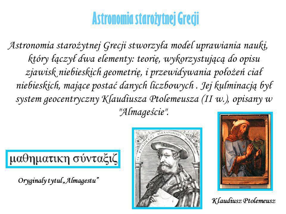 Astronomia starożytnej Grecji