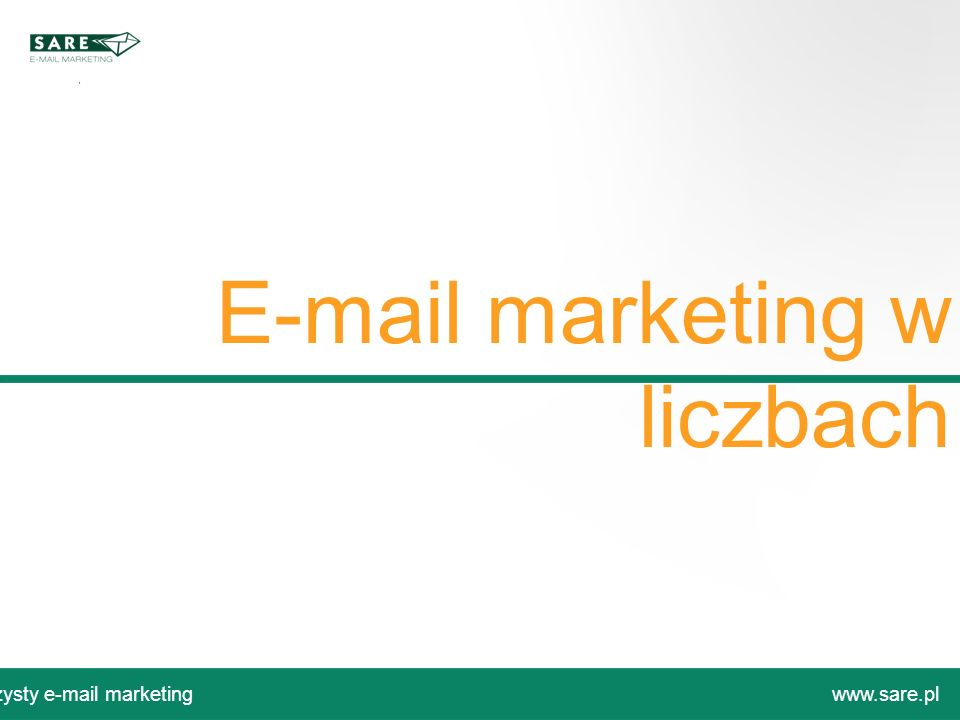 E-mail marketing w liczbach