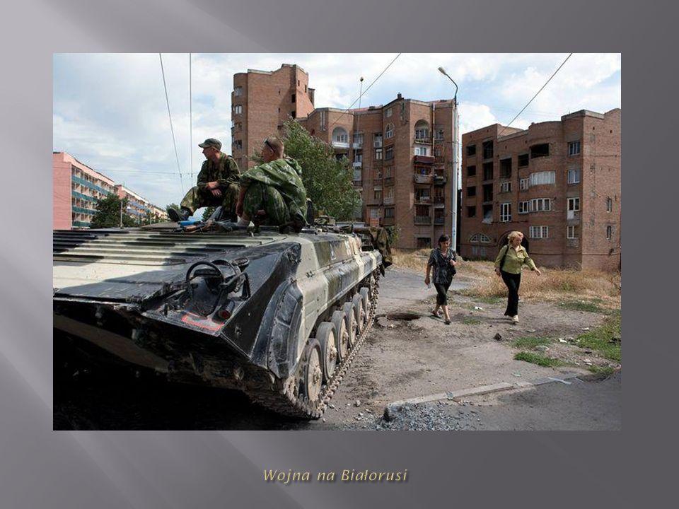 Wojna na Białorusi