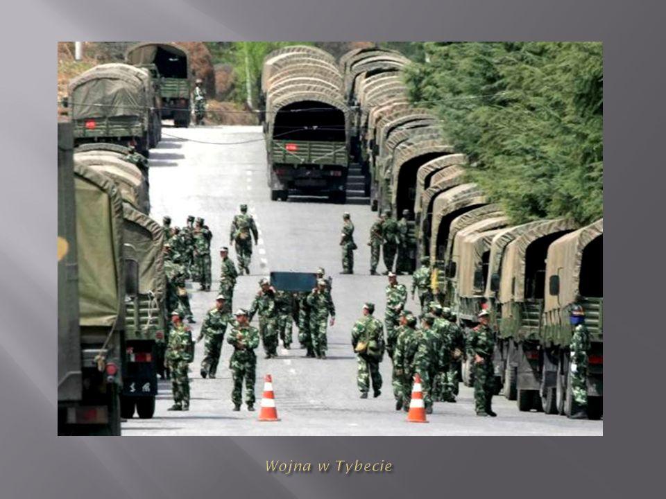 Wojna w Tybecie