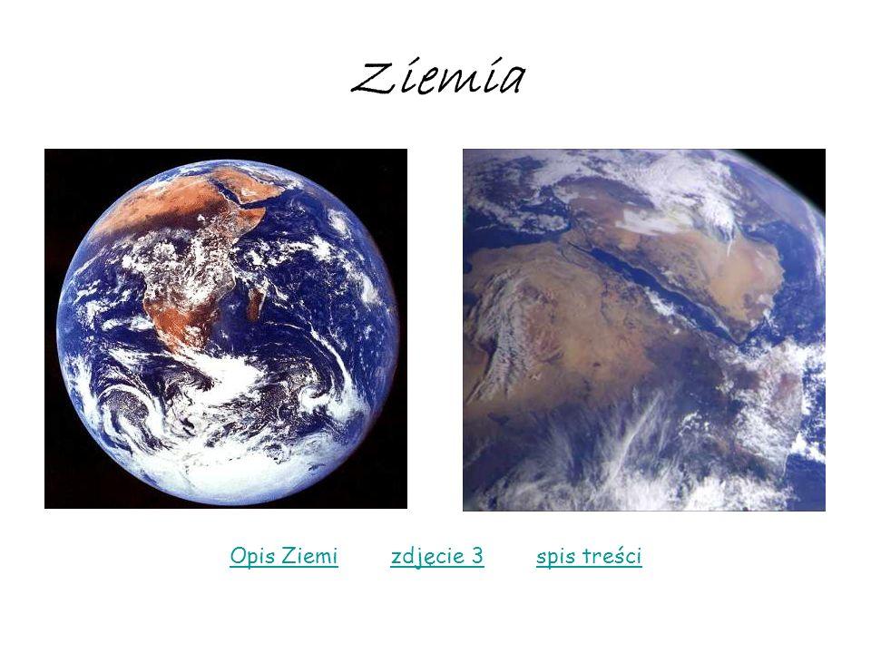 Opis Ziemi zdjęcie 3 spis treści
