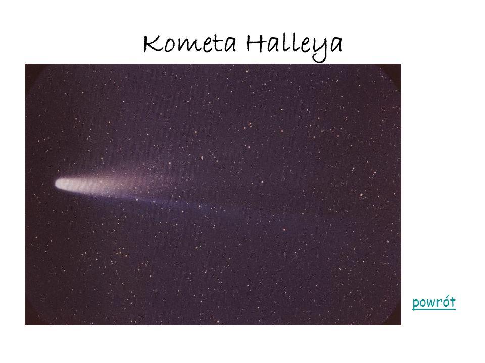 Kometa Halleya powrót
