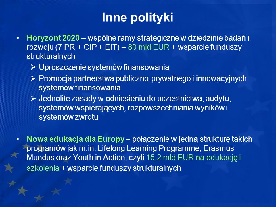 Inne polityki