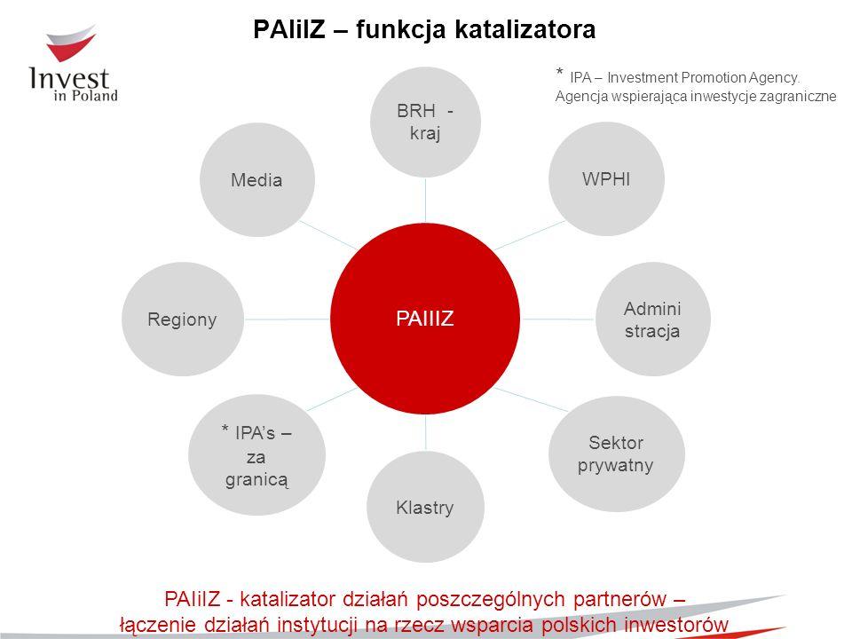 PAIiIZ – funkcja katalizatora