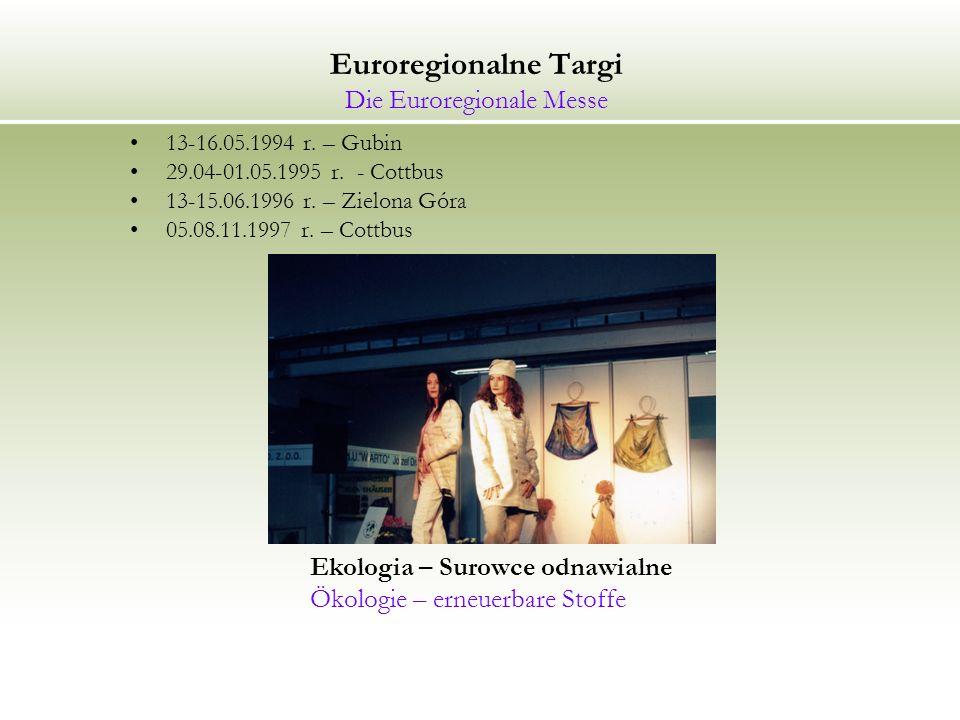 Euroregionalne Targi Die Euroregionale Messe