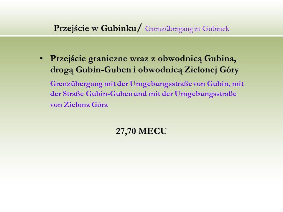 Przejście w Gubinku/ Grenzübergang in Gubinek