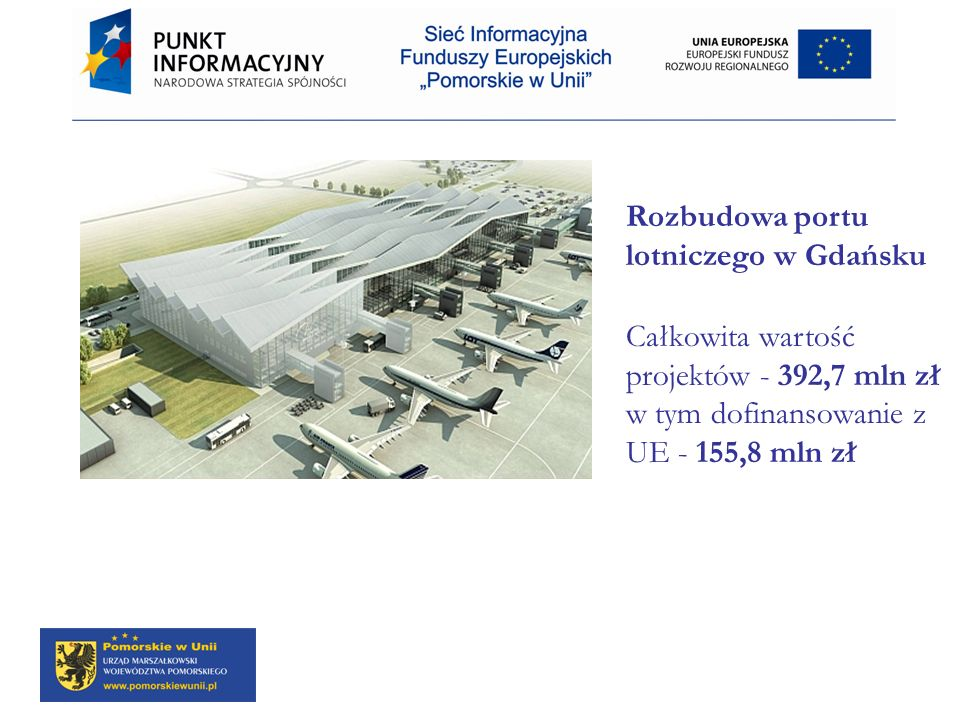 Rozbudowa portu lotniczego w Gdańsku