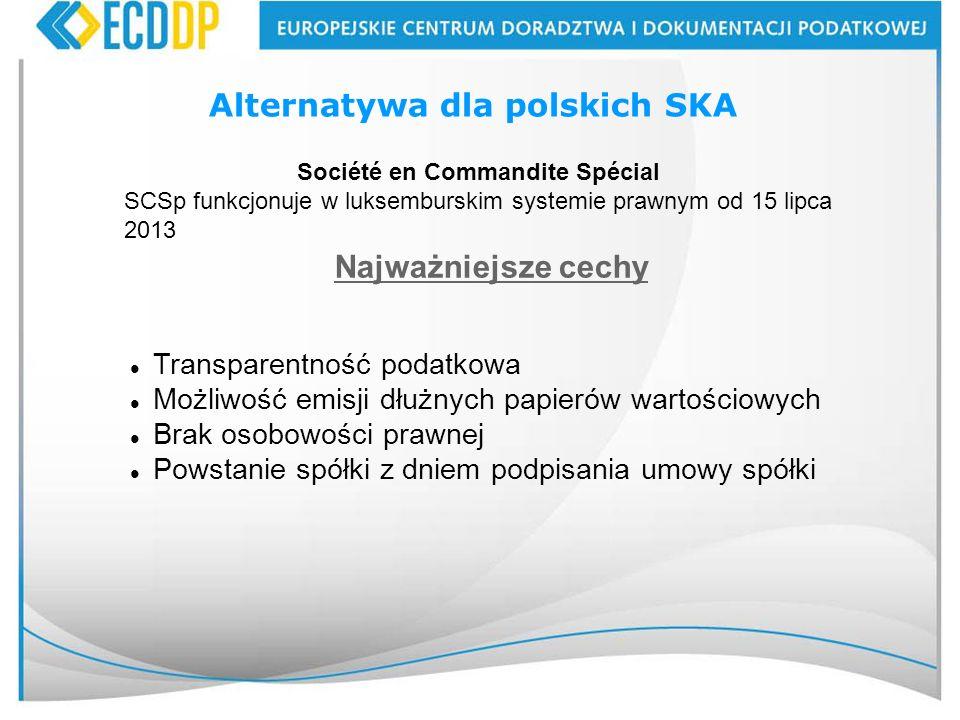 Alternatywa dla polskich SKA