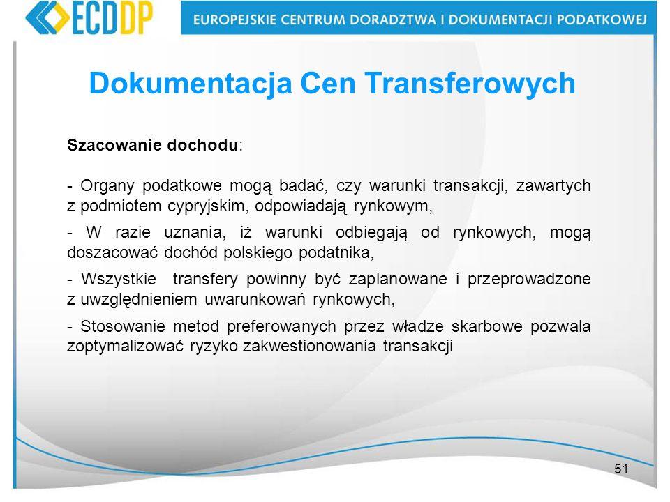 Dokumentacja Cen Transferowych