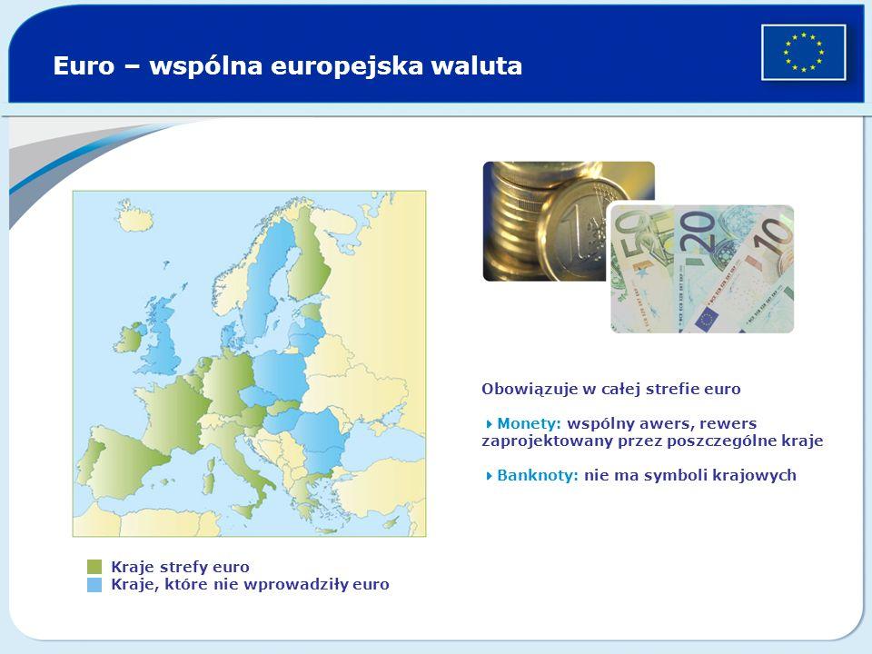 Euro – wspólna europejska waluta