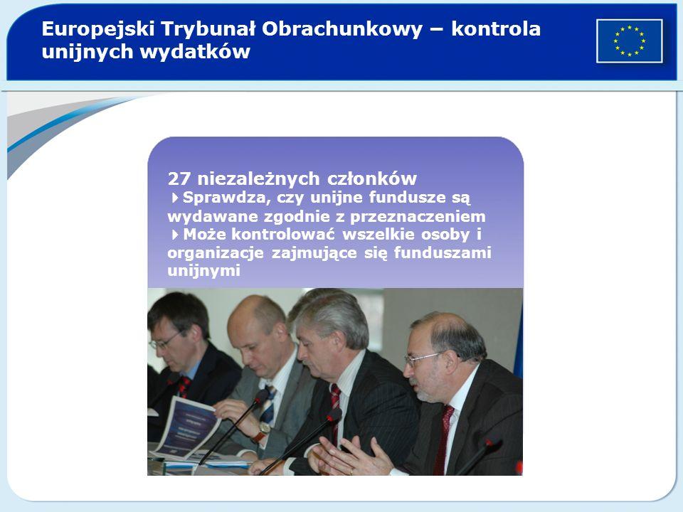 Europejski Trybunał Obrachunkowy − kontrola unijnych wydatków