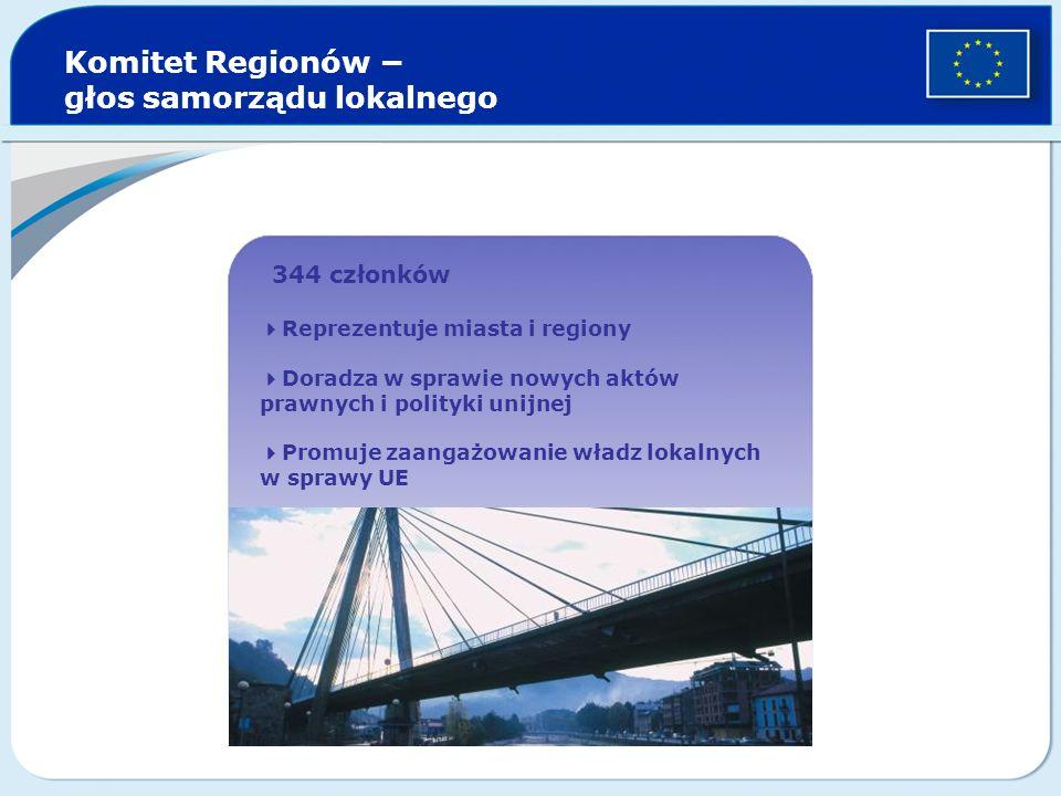 Komitet Regionów − głos samorządu lokalnego