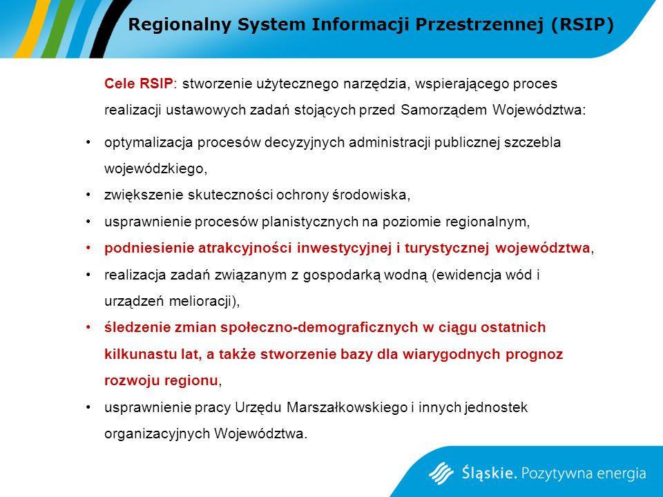 Regionalny System Informacji Przestrzennej (RSIP)