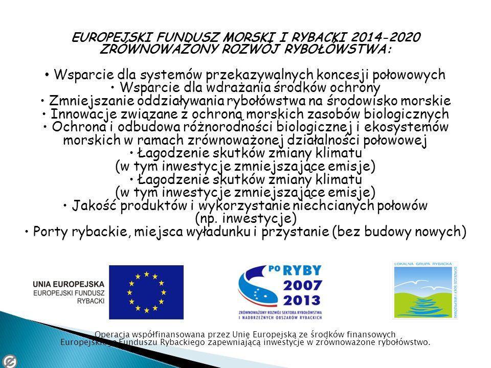 Wsparcie dla systemów przekazywalnych koncesji połowowych