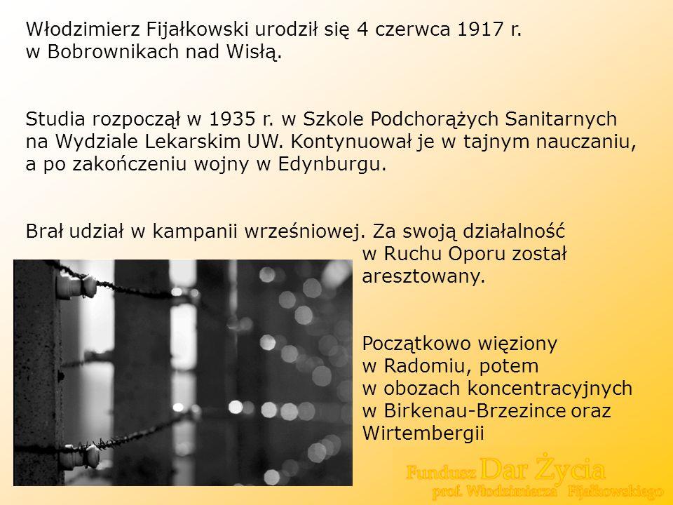 Włodzimierz Fijałkowski urodził się 4 czerwca 1917 r