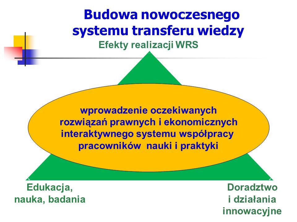 Budowa nowoczesnego systemu transferu wiedzy