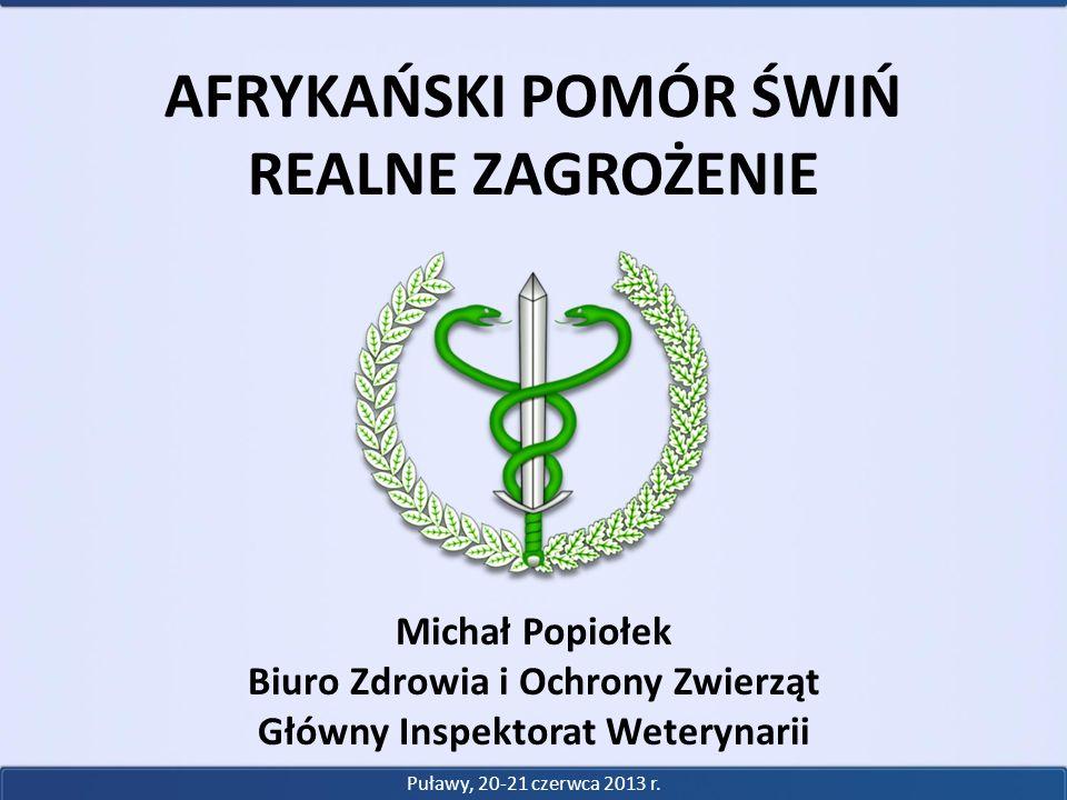 Biuro Zdrowia i Ochrony Zwierząt Główny Inspektorat Weterynarii