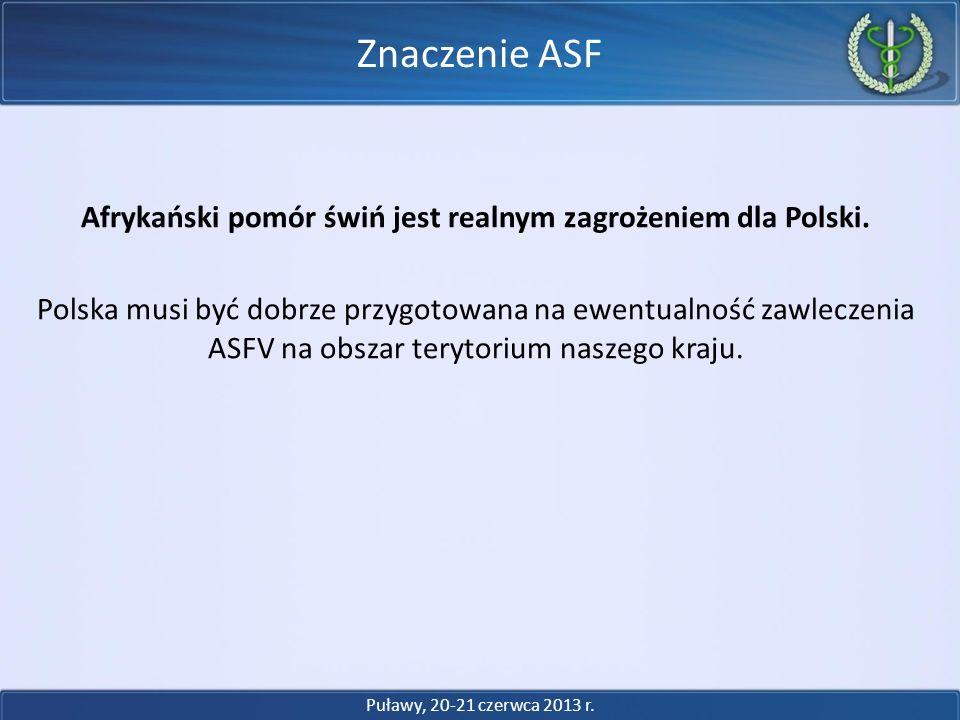 Znaczenie ASF
