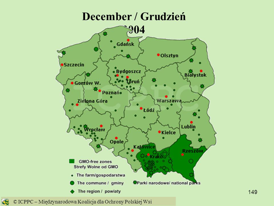 December / Grudzień 2004 © ICPPC – Międzynarodowa Koalicja dla Ochrony Polskiej Wsi