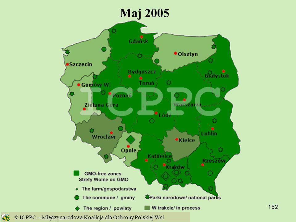 Maj 2005 © ICPPC – Międzynarodowa Koalicja dla Ochrony Polskiej Wsi