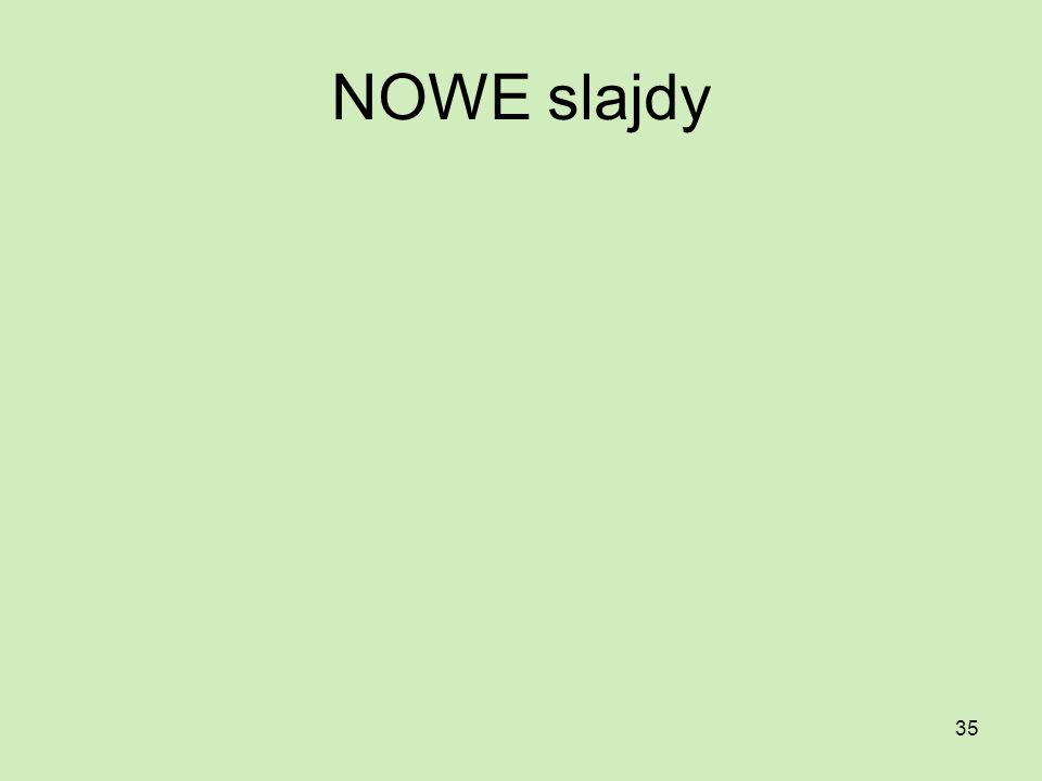 NOWE slajdy