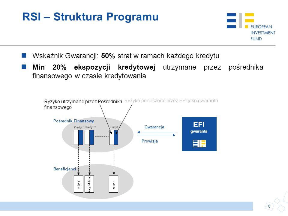 RSI – Struktura Programu