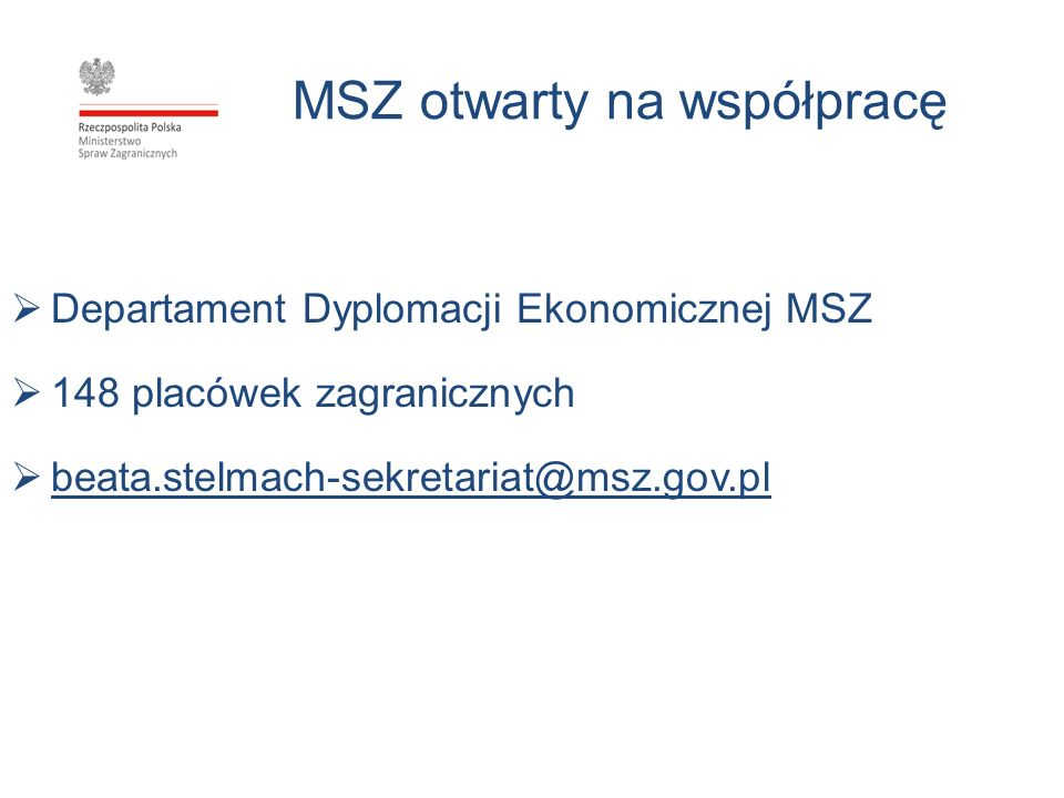 MSZ otwarty na współpracę