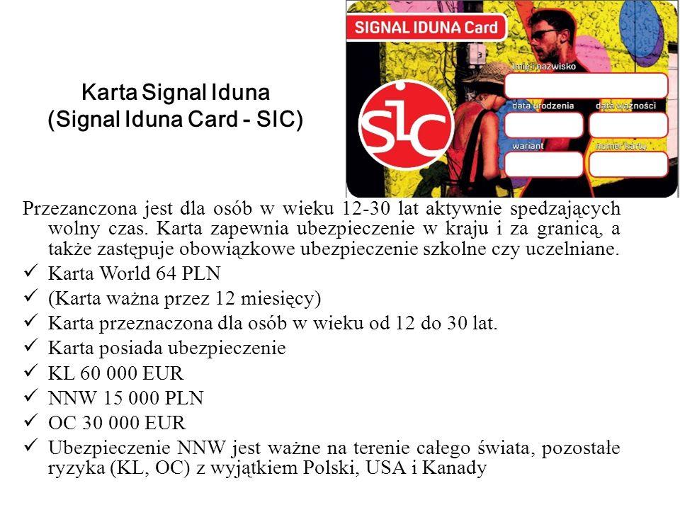 (Signal Iduna Card - SIC)