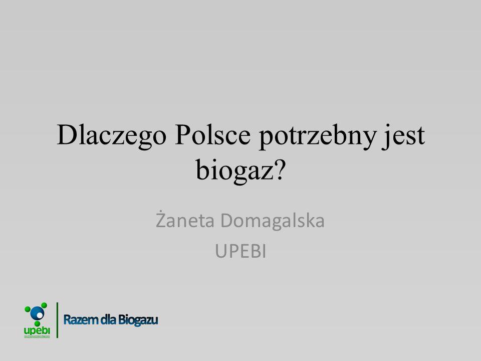 Dlaczego Polsce potrzebny jest biogaz