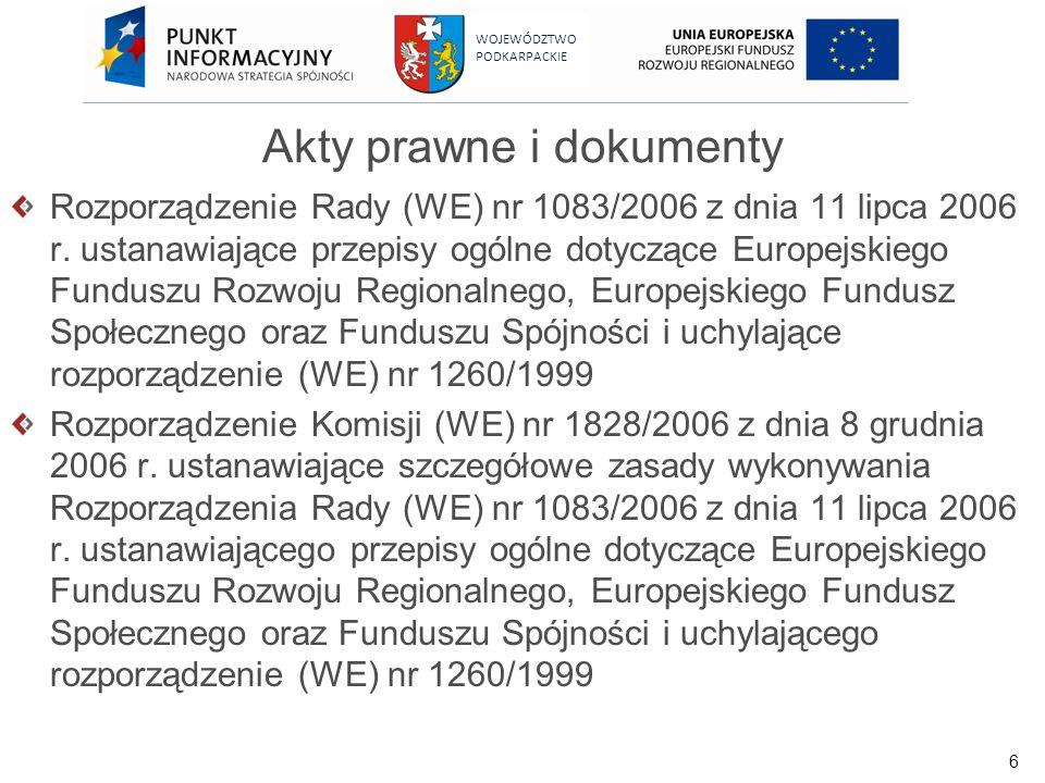 Akty prawne i dokumenty
