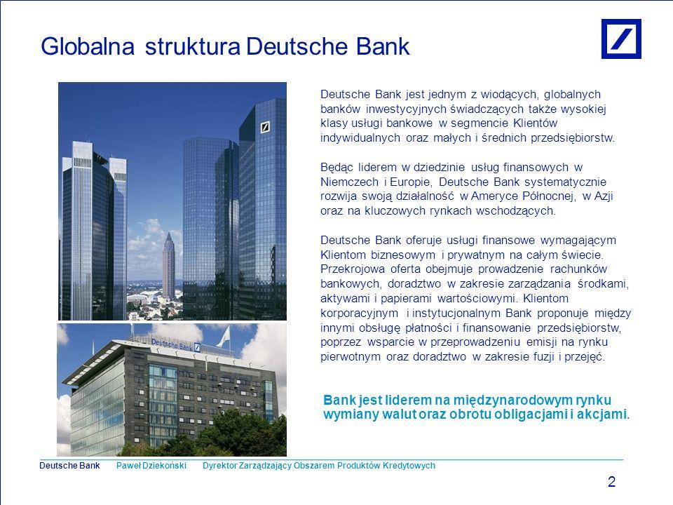 Globalna struktura Deutsche Bank