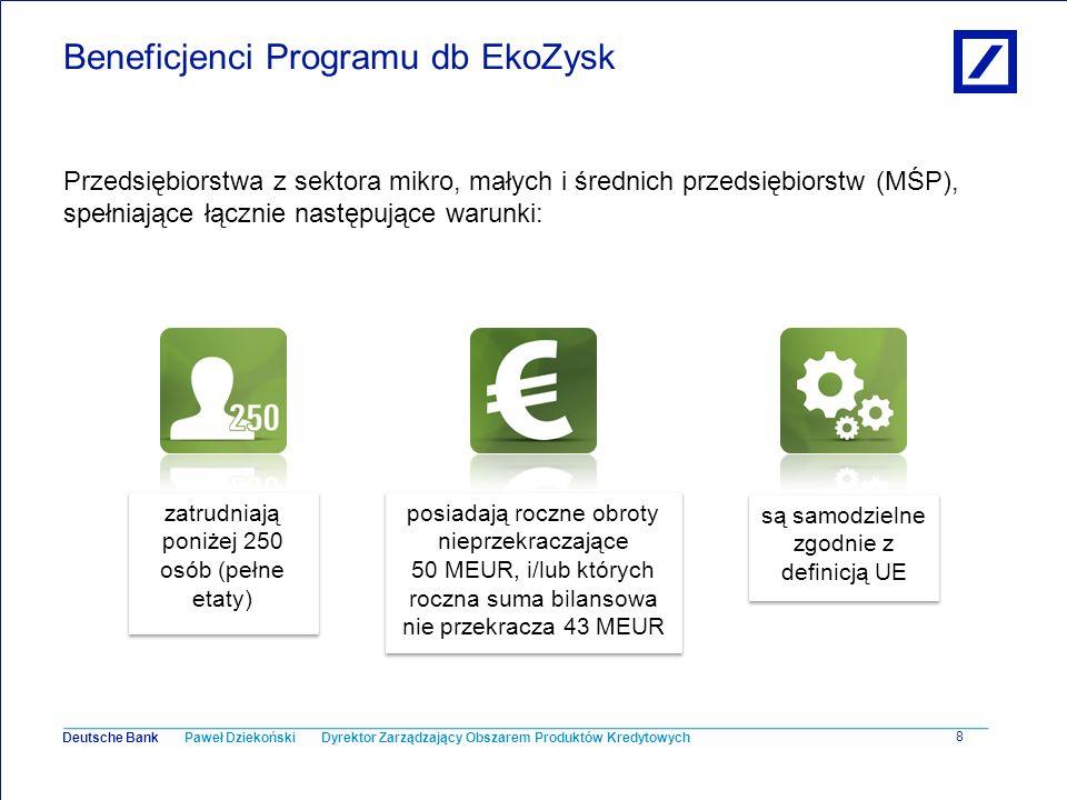 Beneficjenci Programu db EkoZysk