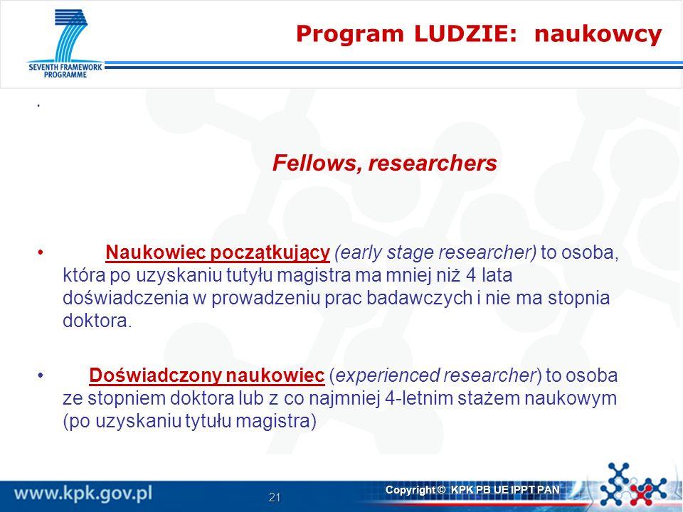 Program LUDZIE: naukowcy