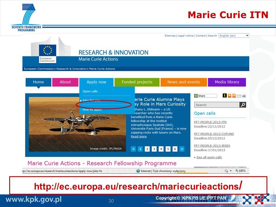 Marie Curie ITN http://ec.europa.eu/research/mariecurieactions/